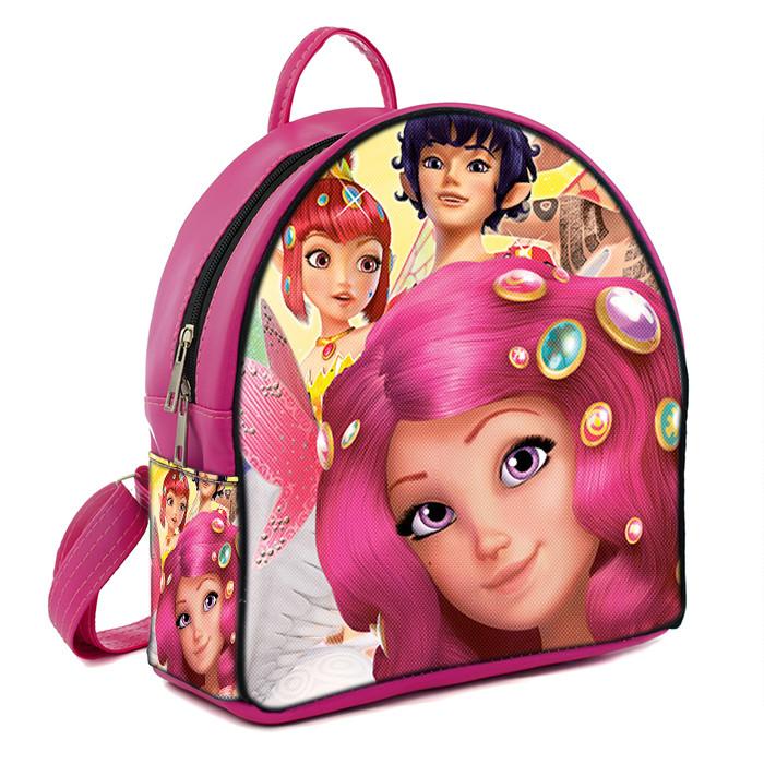 Розовый детский рюкзак для девочки с принтом Мия и Я - MalvaOpt в  Хмельницком 7c760c9f66c
