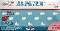 Перчатки нитриловые Sanger prima alfatex