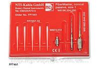 Стекловолоконные штифты  NTI FiberMaster конические размер 1 (FP7461)