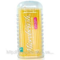 Микроаппликаторы короткие Microbrush Original - Fine100шт/уп