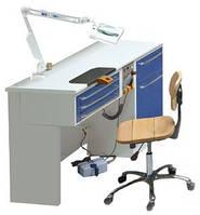 Стол зубного техника на 1 рабочее место, модель В1