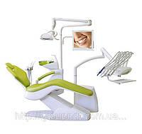 SLOVADENT 800 Optimal 09 - установка несомая креслом с верхней подачей шлангов
