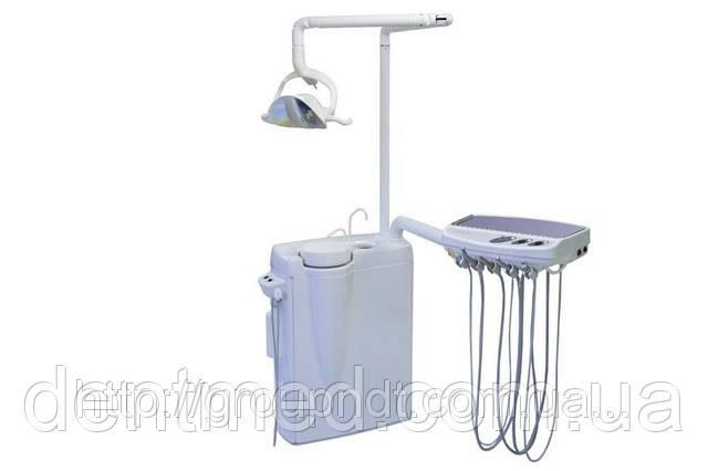 SLOVADENT 800 Basic Установка напольного типа рядом стоящая с креслом NaviStom