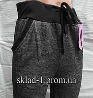 Лосины штаны на байке с карманами Ласточка  (уп.6 шт)