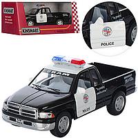 Детская Инерционная Машина Полицейский Джип KT 5018 WP, Металлическая машинка Полиция 5018