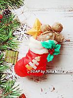 Новогодний носочек с подарками