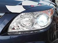 Реснички на фары Hyundai i30 широкие