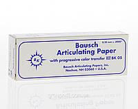 Артикуляционная бумага BK05 синяя 200мк. 300шт.