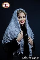 Оренбургский пуховой платок Сильвия 100см