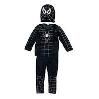 Детский карнавальный костюм Спайдермен Черный