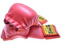 Накладки (перчатки) для карате BWS красные р.L