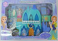 Замок принцессы с мебелью, фигурками, музыка, свет