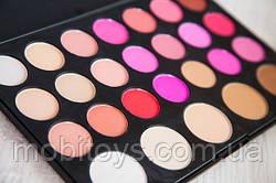 Профессиональная Палитра румян и пудр 26 цветов для макияжа в наличии