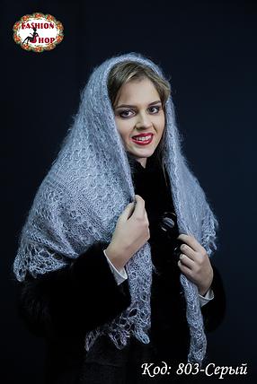 Оренбургский пуховой платок Сильвия 105см, фото 2