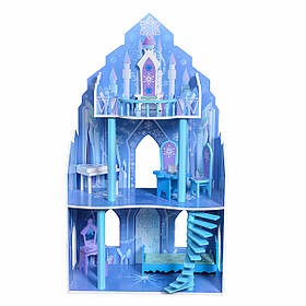 Большой игровой кукольный домик Ice Residence