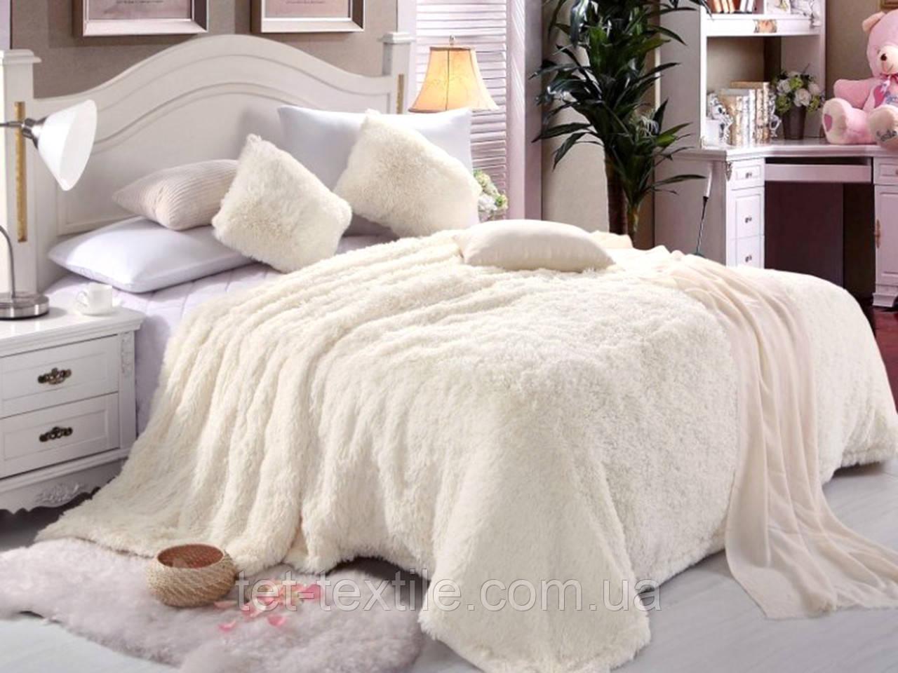"Плед-покрывало ""Мишка"" Белый (160x210)"