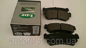 LPR 05P1199 Тормозные колодки задние Lacetti