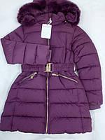 Куртка-пальто зима для девочки подростка Xueerdanni Китай