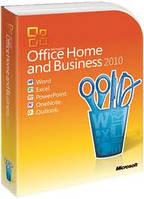 Microsoft Office Home and Business 2010 32/64Bit Russian DVD BOX (T5D-00412). Поврежденна упаковка!