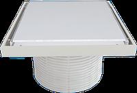 Надставки для трапа со стеклянной решеткой или под плитку (WHITE) 150х150 мм