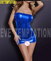 Сексуальное виниловое платье Barbie, фото 2