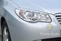 Реснички на фары Hyundai Elantra узкие
