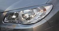 Реснички на фары Hyundai Elantra широкие