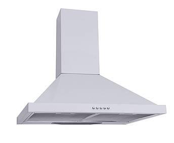 Вытяжка кухонная каминная 60 см белая Ventolux Lazio 60 wh (750), фото 2