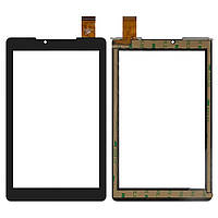 Сенсорный экран (touchscreen) для Prestigio MultiPad 7.0 Color 2 3G (PMT3777), 30 pin, черный, оригинал