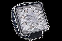 Светодиодная фара рабочего света Allpin 24 Вт из 8 диодов по 3 Вт, фото 1