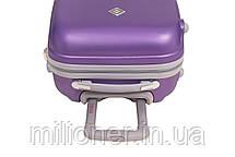 Комплект чемодан + кейс Bonro Smile (большой) фиолетовый, фото 3