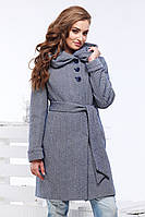 Женское шерстяное пальто Ада р-ры 42-54,ТМ NUI VERY, Украина