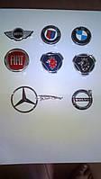 Значок. Эмблема. Шильдик. Логотип. BMW. Fiat. Jaguar. Volvo. Mercedes-Benz.
