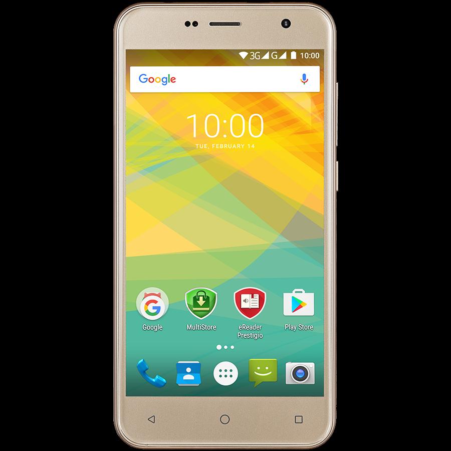 Смартфон Prestigio PSP7511 Muze B7 2/16GB золотой