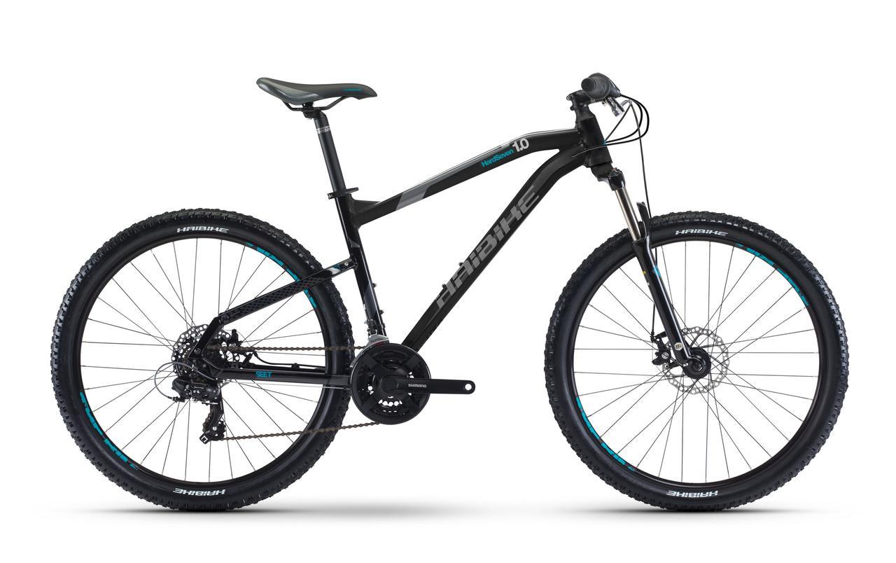 "Велосипед Haibike SEET HardSeven 1.0 27,5"" рама 50 см черный"