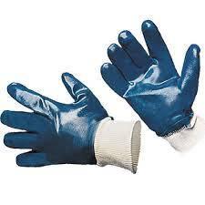 Перчатки нитриловые с мягким манжетом, фото 2