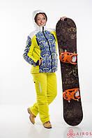 Модный лыжный костюм женский