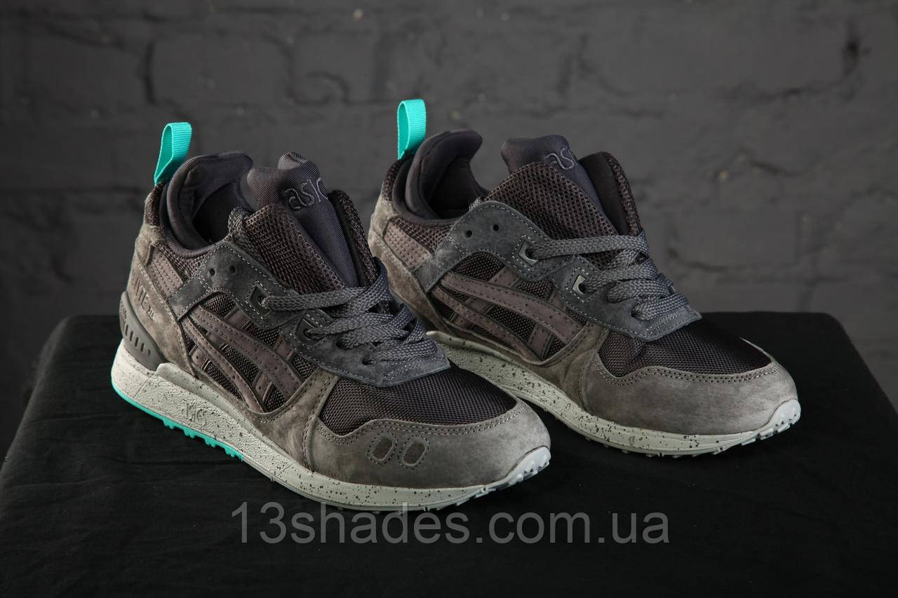 7f002d2f Кроссовки мужские зимние Asics Gel Lyte MT Grey/Mint - Интернет-магазин