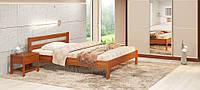 """Ліжко з натурального дерева """"Альпіна"""""""