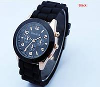 Женские часы GENEVA ЖЕНЕВА черные