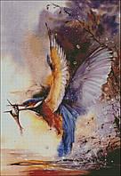 """Набор для вышивания """"Зимородок с рыбкой"""", фото 1"""