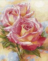 Набор для вышивания крестом Алиса 2-31 Розовые мечты