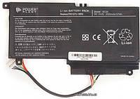 Аккумуляторная батарея для ноутбука PowerPlant Аккумулятор для ноутбуков TOSHIBA Satellite L55 (PA5107U-1BRS, TA5107P9) 14.8V 2500 mAh (NB510221) +