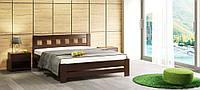 """Ліжко з натурального дерева """"Сакура"""""""