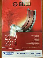 Авто каталог GLYCO Вкладыши коленвала, распредвала 2013-2014