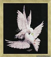 """Набор для вышивания крестом Золотое Руно З-018 """"Моя голубка"""""""