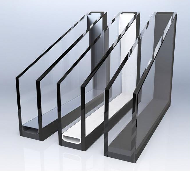 Стеклопакет однокамерный 32 мм с двумя закаленными стеклами