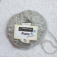Пряжа шерсть альпака серого цвета