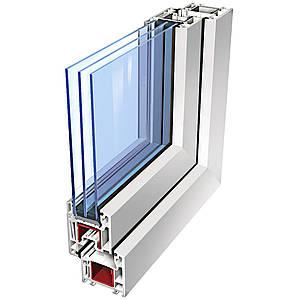 Стеклопакет двухкамерный 32 мм c энергосберегающим стеклом