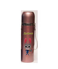 Термос детский YG-2 500ml ( термокружка,термос ),розовый, фото 3